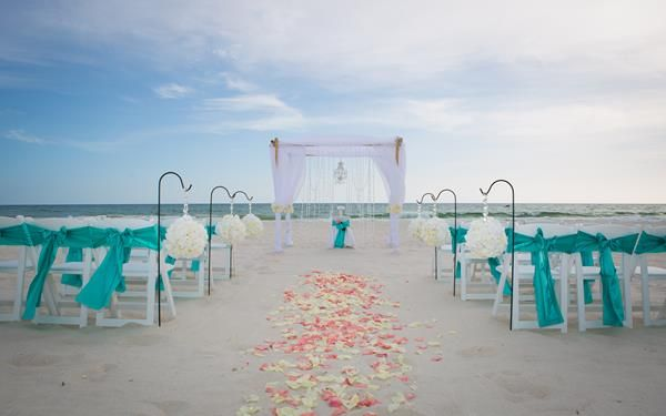 Beach Wedding Florida Crystal Chandelier