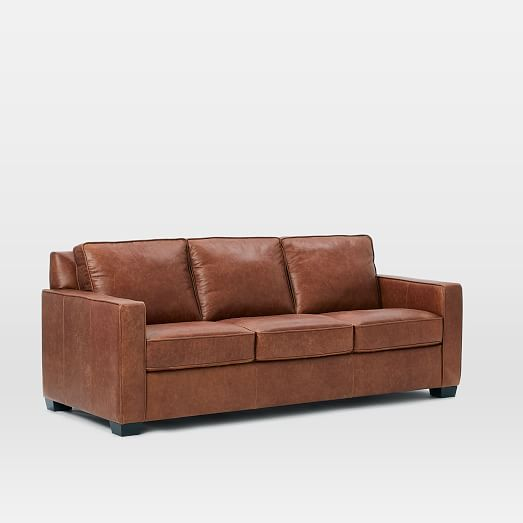 Henry® Leather Sofa - Tobacco #westelm