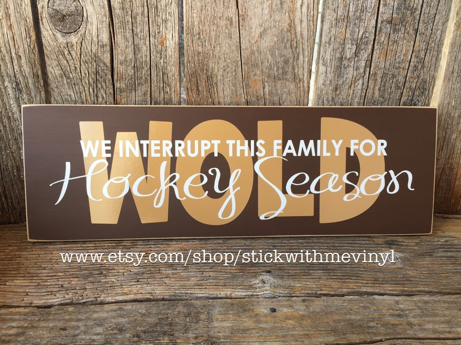 In memory of family wedding sign we know you by signstoliveby - We Interrupt This Family Marriage For Hockey Season Football Soccer Basketball Hockey Sport Home Family