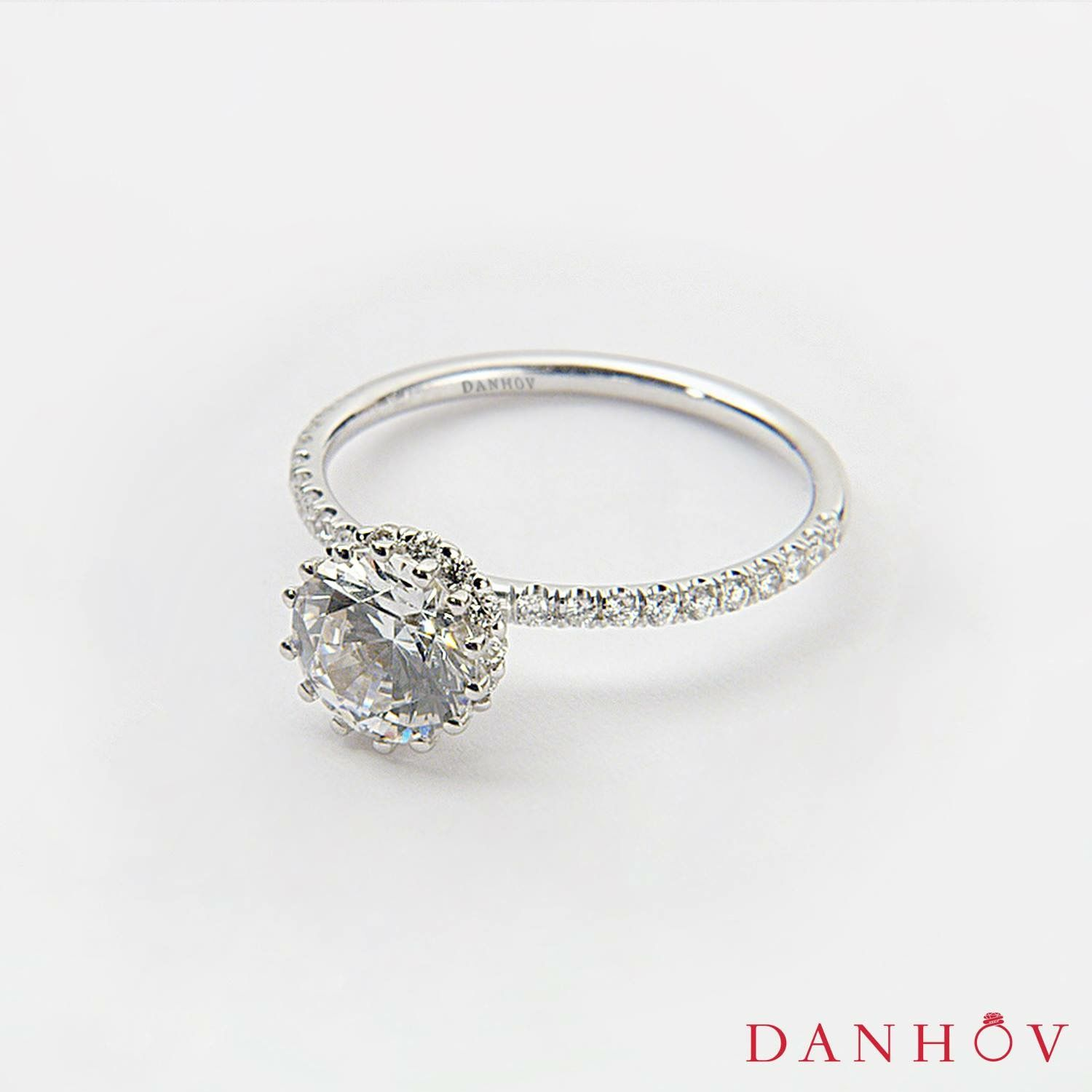 Couture Diamond Engagement Ring Style Ce502uh Danhov Diamond Engagementring Jewelry Desig Engagement Rings Unique Wedding Bands Luxury Jewelry Brands