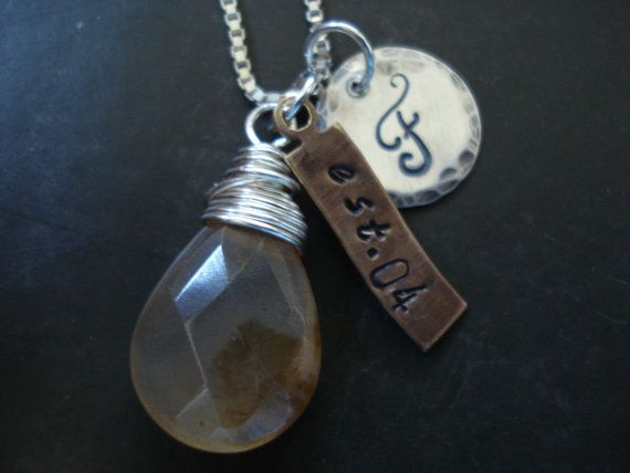Customized necklace Personalized jewelry Charms by EBsJewels, $35.00