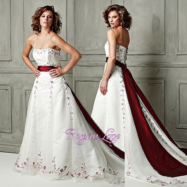 Red sashes for dresses