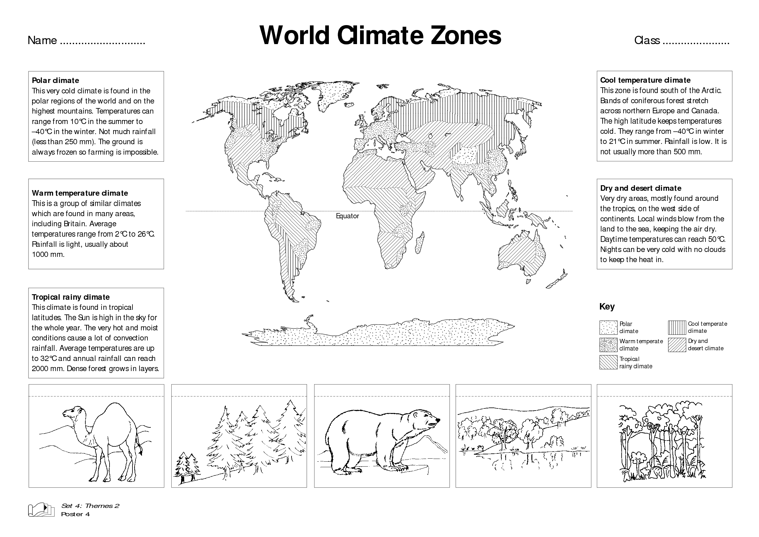 hight resolution of world climate zones for kids worksheets - Google Search   Weather worksheets