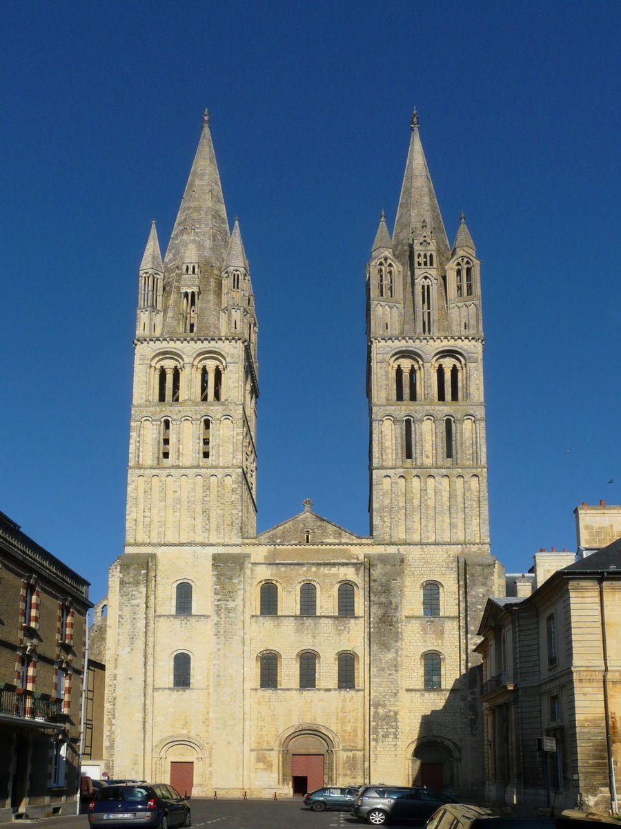 Romanesque Architecture France St Etienne The Abbaye Aux