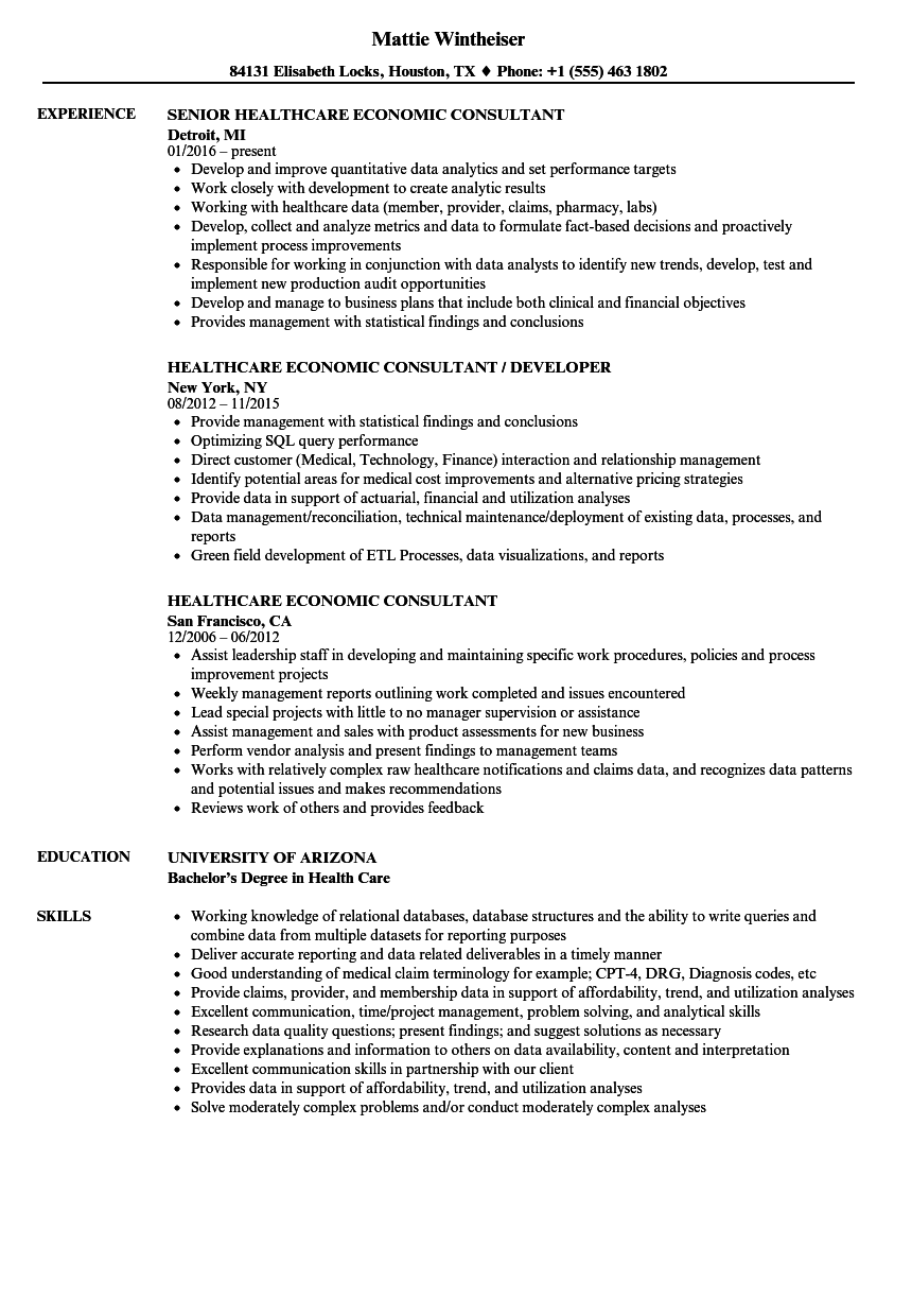 Healthcare Management Consultant Resume Nursing Resume Healthcare Management Resume Template Examples