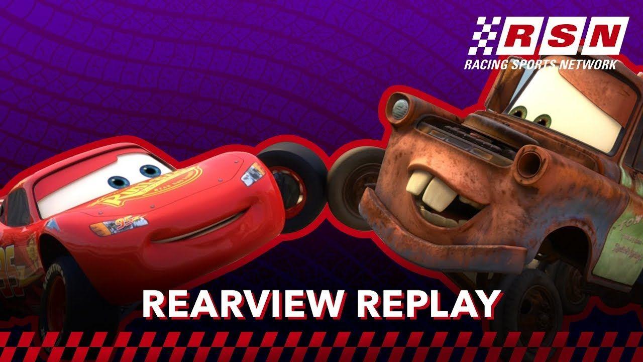 Rearview Replay Mcqueen And Mater S Handshake Racing Sports Network B Disney Pixar Cars Pixar Cars Disney Pixar