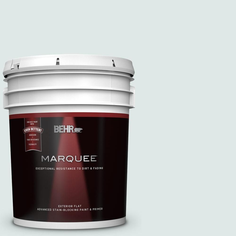 Behr Marquee 5 Gal Ppu13 17 Fresh Day Flat Exterior Paint And Primer In One Behr Marquee Exterior Paint Behr Marquee Paint