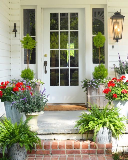 8 Stunning Container Gardening Ideas: Easy And Beautiful Container Garden Ideas For Your Porch