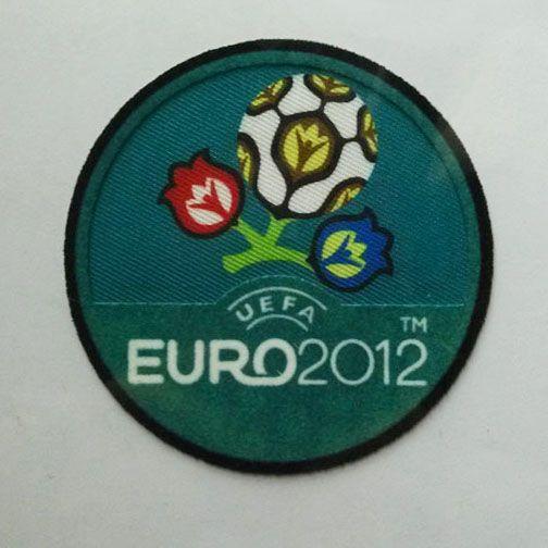 UEFA EURO CHAMPIONS 2012 BADGES / PATCHES | 3D Flock Patch