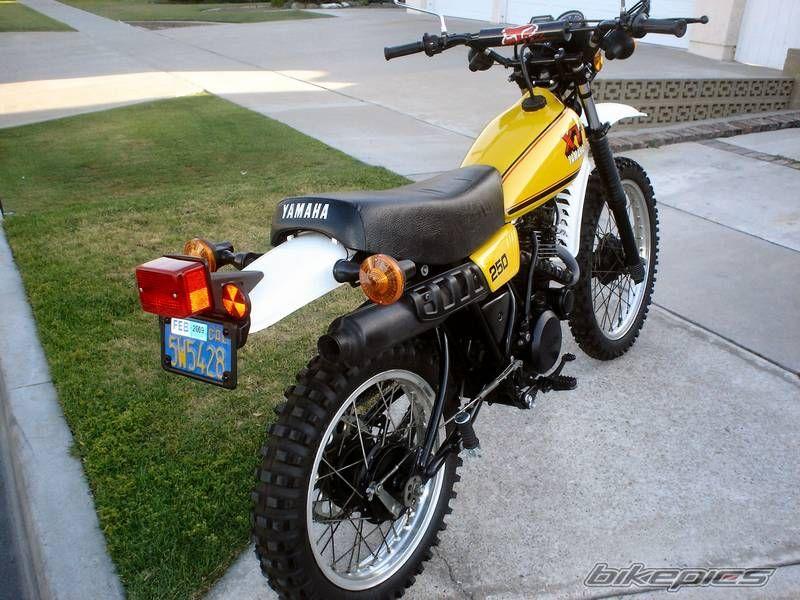 Collauss S 1980 Yamaha Xt 250 Yamaha Ghost Bike Classic Bikes