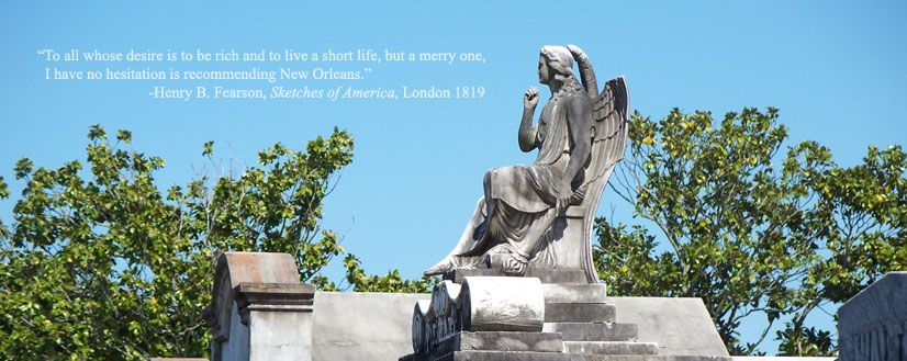 Lafayette Cemetery #1 Tour in New Orleans - Tour-New-Orleans.com
