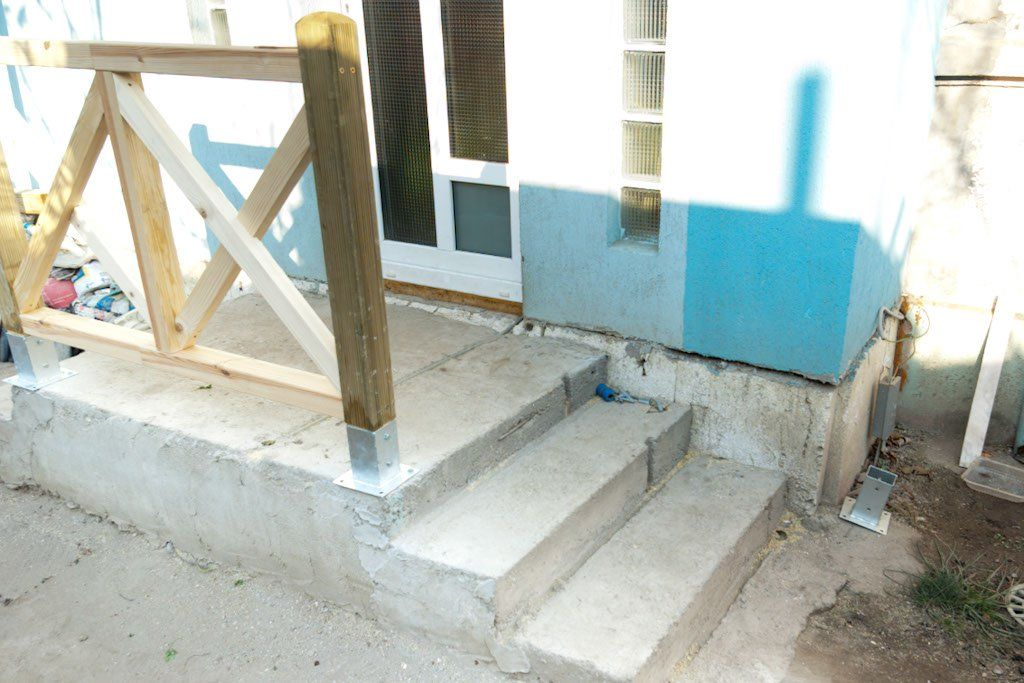 Best How To Anchor Post To Concrete Deck Over Concrete Diy 640 x 480
