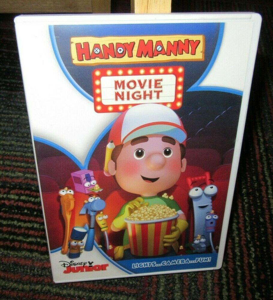 Details about DISNEY JR HANDY MANNY MOVIE NIGHT