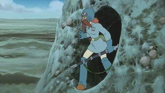 nausicaa manga | Nausicaä es el segundo largometraje de Miyazaki. El primero, si ...