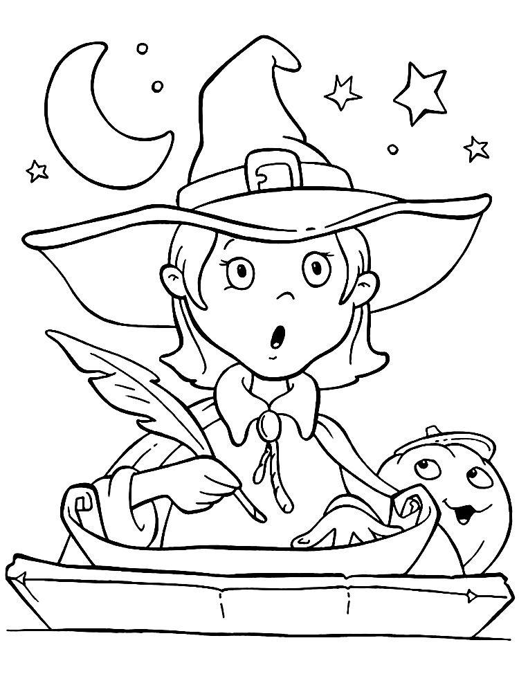 Dibujos Para Colorear Halloween Para Ninos Dibujos De