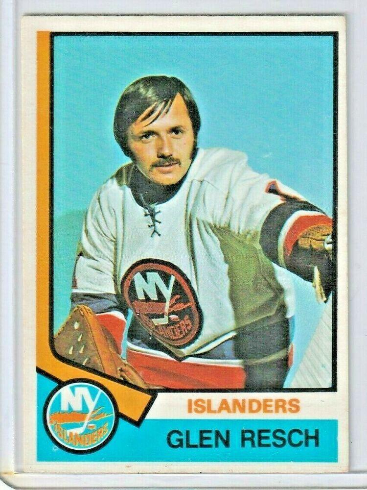 Glen Resch Rookie Card RC 197475 OPC New York Islanders