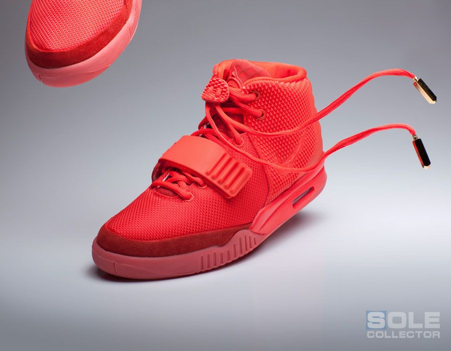 End Of An Era The Red October Nike Air Yeezy Ii Sneakers Red Sneakers Nike Air
