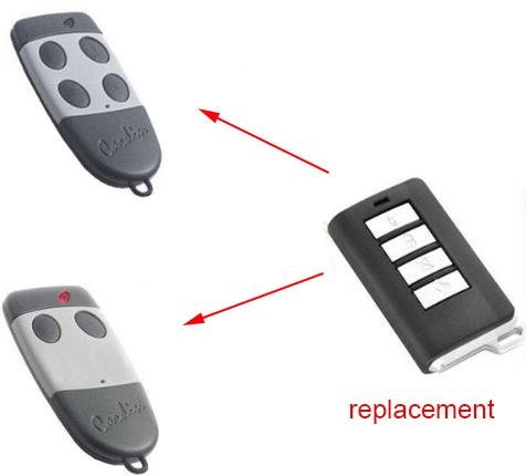 Cardin S449 Garage Door Repalcement Remote Transmitter Key Fob Garage Doors Remote Remote Control