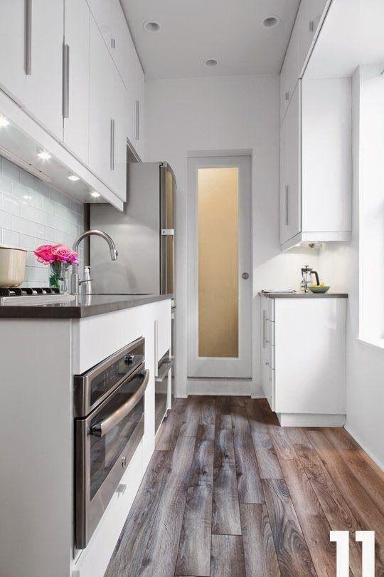 50 fotos de cocinas modernas pequeñas llenas de inspiración ...
