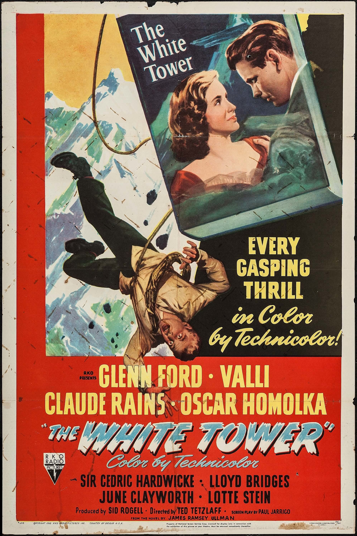 The White Tower (1950) Stars Claude Rains, Glenn Ford