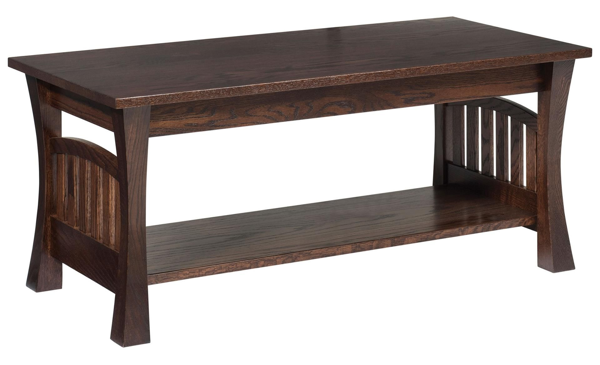 Amish Gateway Coffee Table With Images Storage Ottoman Coffee