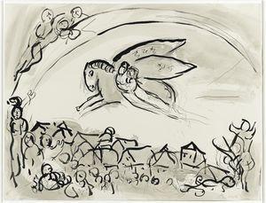 Cantique des Cantiques IV - (Marc Chagall)