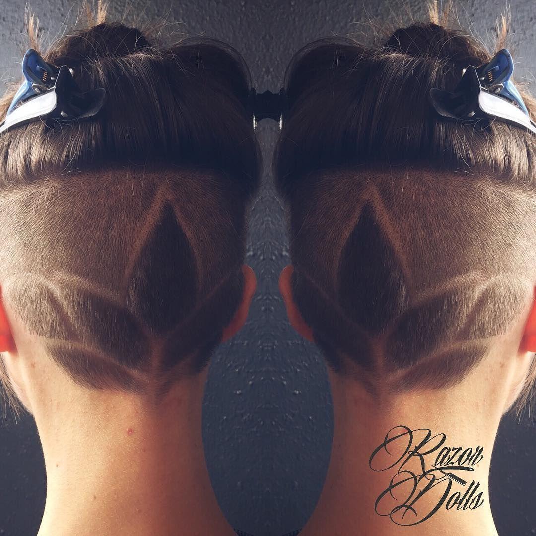 Lotus Hair Tattoo By Angela Hairtattoo Awesomecustomers