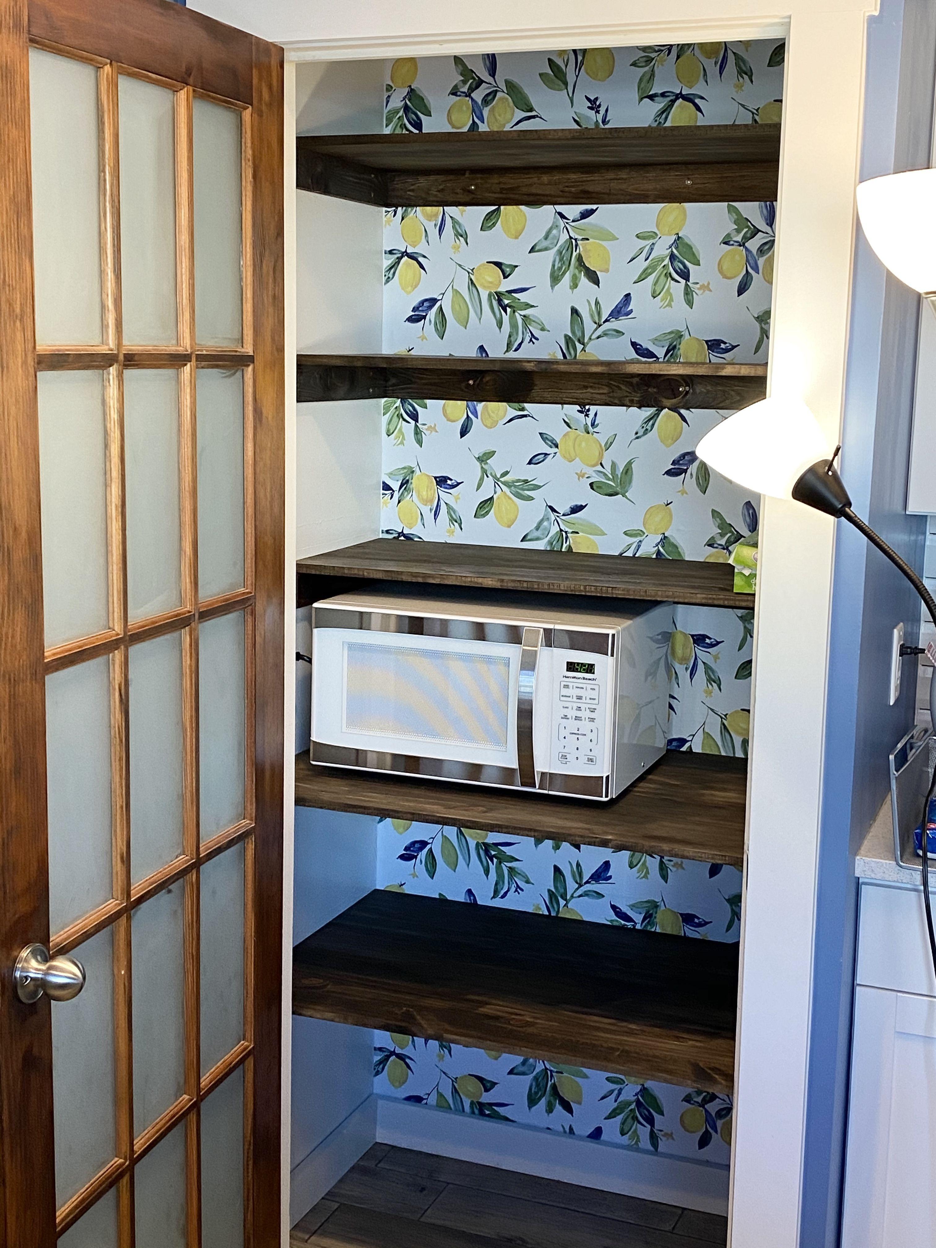Pantry Pantry Remodel Wallpaper Bookcase Kitchen Wallpaper