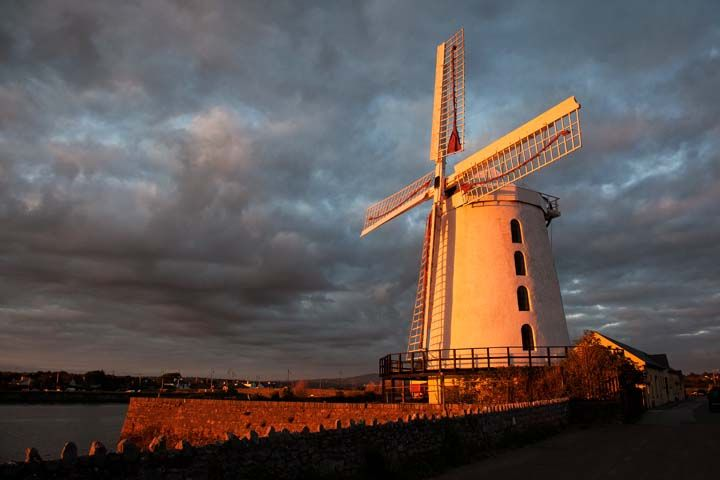 Blennerville Windmill Sunset Tralee Kerry Ireland Tralee