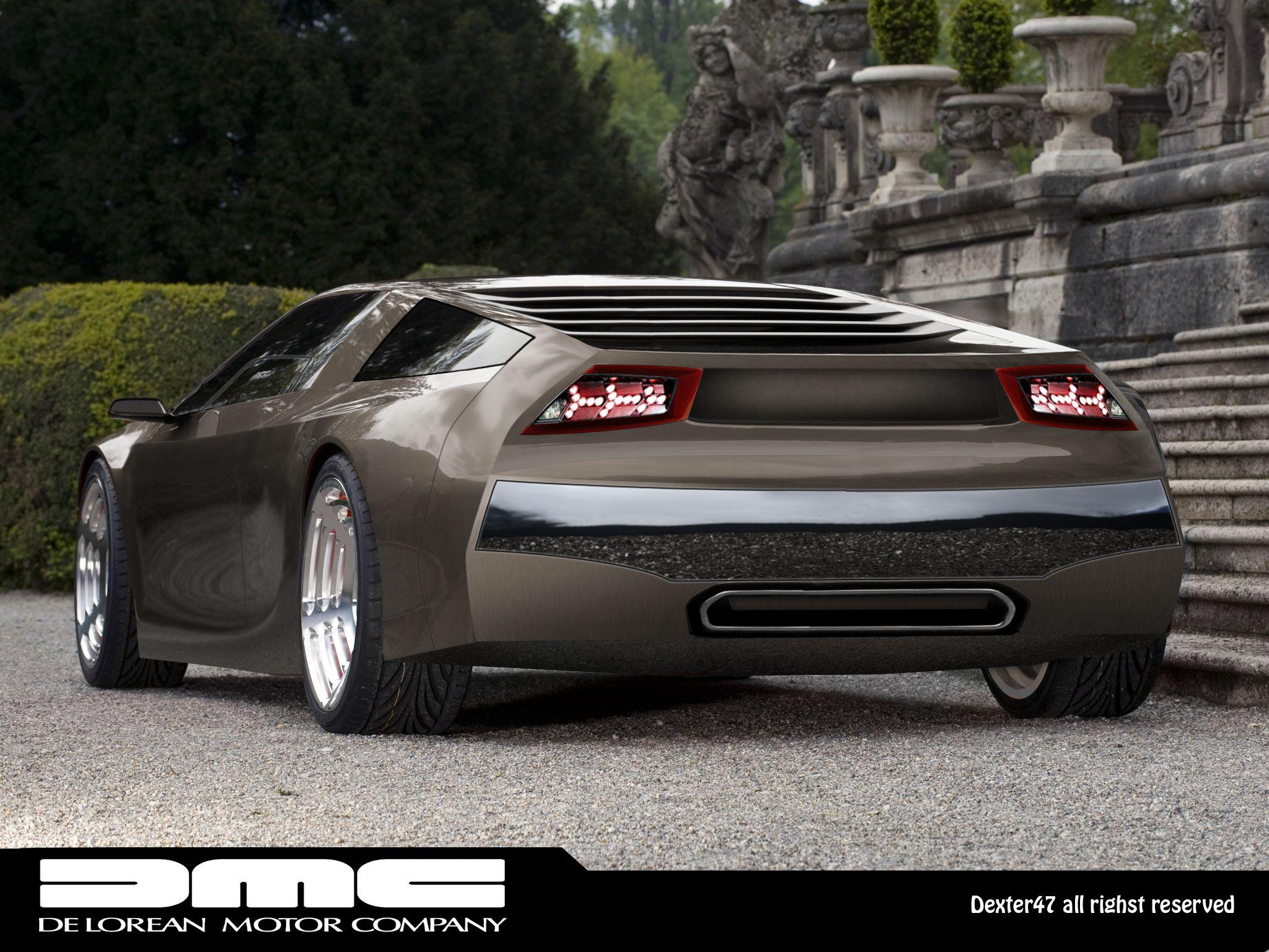 Delorean Concept Concept Cars Cars Classic Cars
