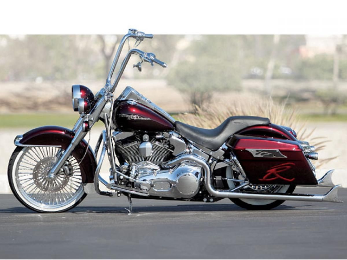 2003 harley davidson heritage softail cruise a low rider hot bike