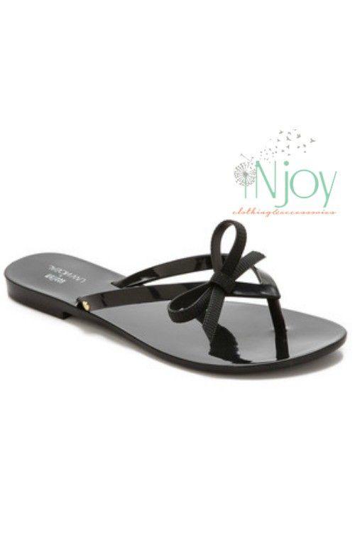 57f90949c Melissa + Jason Wu Bow Flip Flop Black  jasonwu  melissanation   shoesmelissa  melissashoes