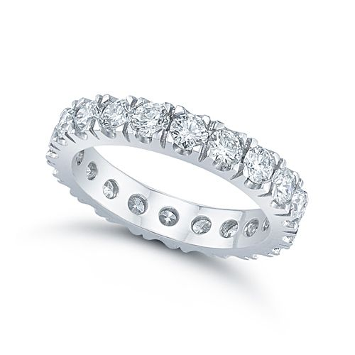 10 Point Eternity Band Set In The Style Of Micro Pave Nyc Engagement Rings Eternity Band Diamond Unique Engagement Rings