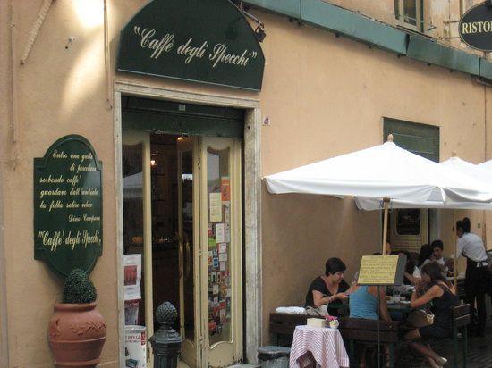 Caffe degli Specchi. Genova