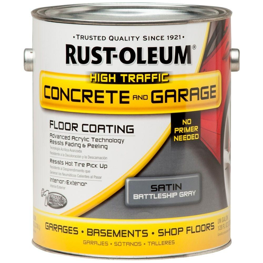 Battleship Gray Concrete Floor
