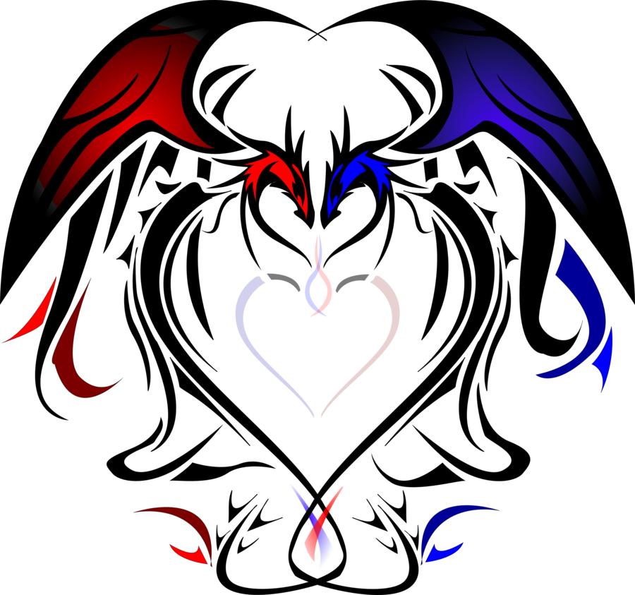 Image detail for -Heart Dragons by ~silentsleeper on deviantART
