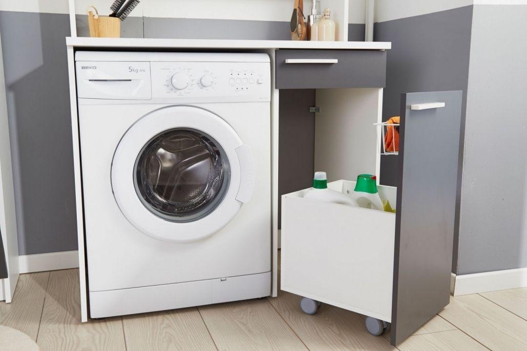 Meuble Machine A Laver Pour Un Coin Buanderie Pratique Meuble