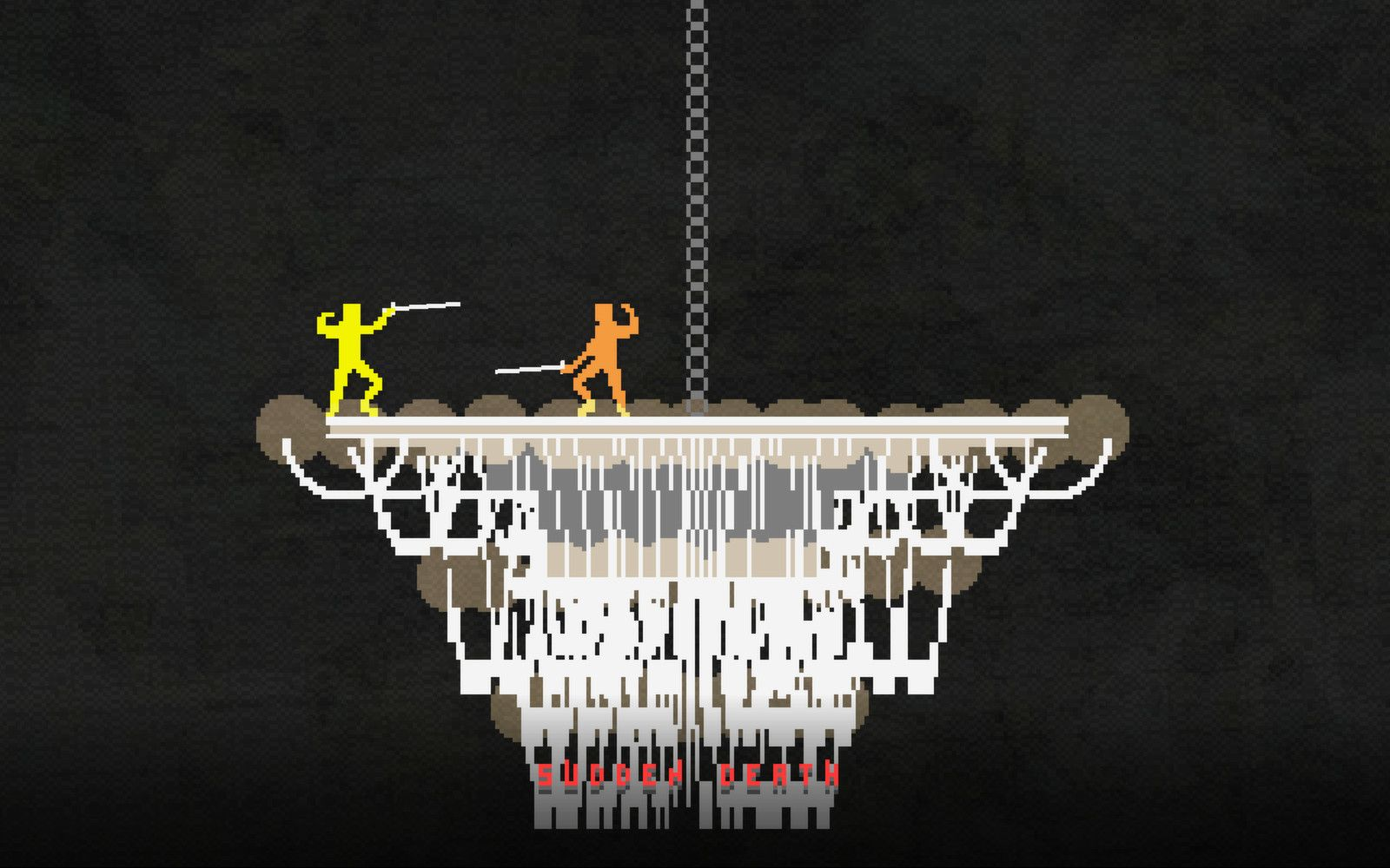 On top of the chandelier in Nidhogg! | Gaming | Pinterest ...