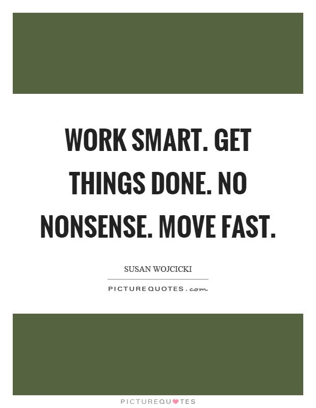 Image result for work smart get things done