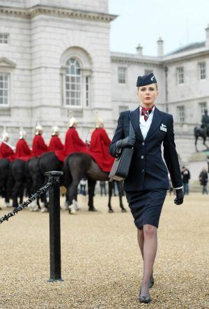 British Airways decided to allow female cabin crew staff to wear