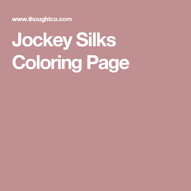 Create Your Own Jockey Silks With This Coloring Page Coloring Pages Kentucky Derby Party Jockey