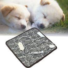 Perro Gato Manta Eléctrica 220 V Impermeable Llama Dog Pet Bed