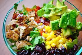 Avocado chicken salad. Yum!