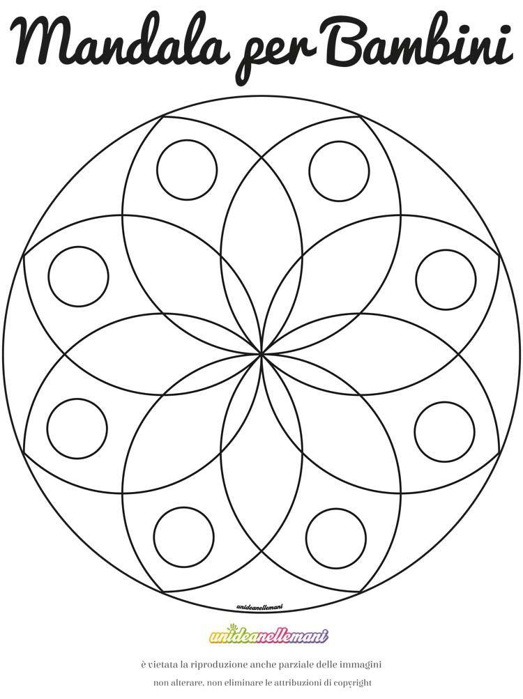 Come Colorare I Mandala Disegni Di Mandala Da Colorare Disegno