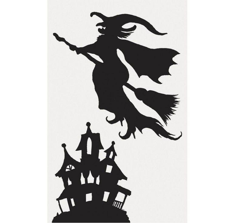 stickers de fen tres halloween sorci re halloween pinterest sorci res halloween et stickers. Black Bedroom Furniture Sets. Home Design Ideas
