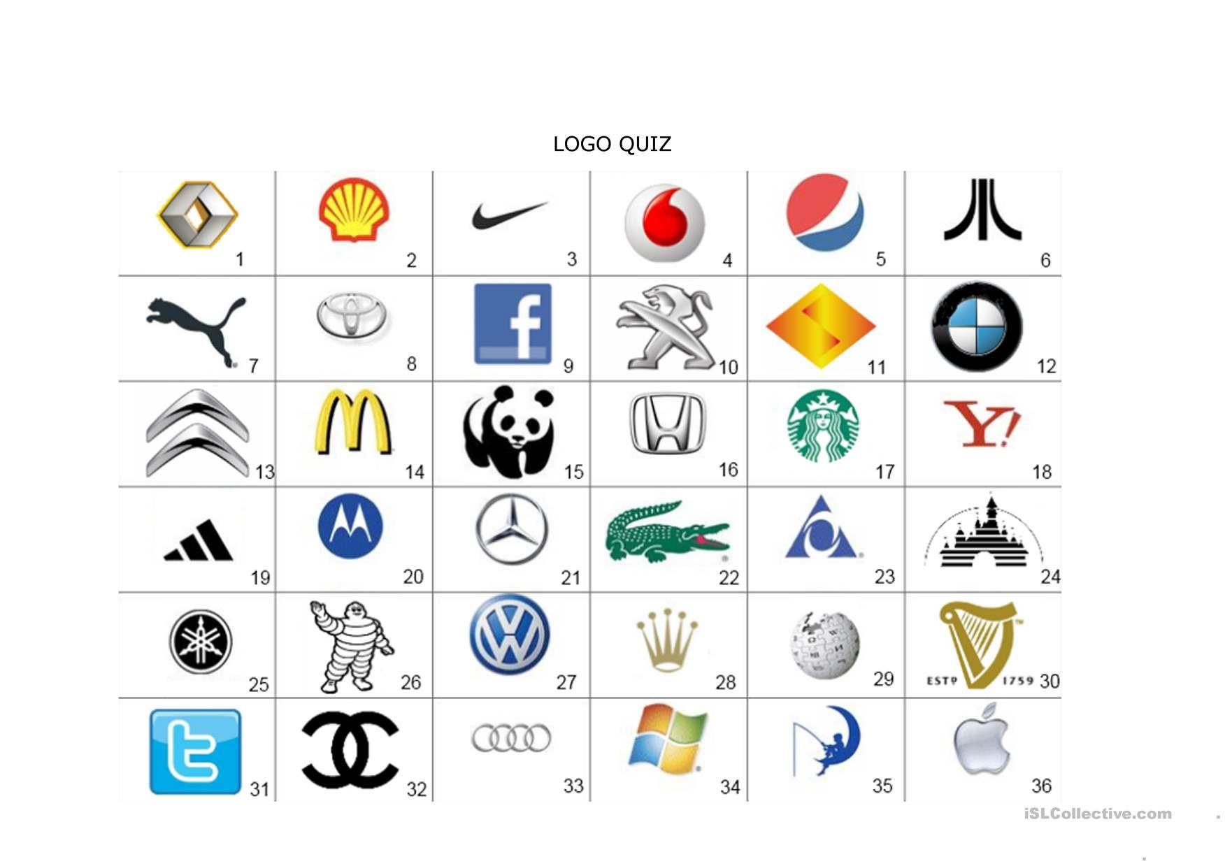 One Click Print Document Guess The Logo Logo Quiz Games Logo Quiz