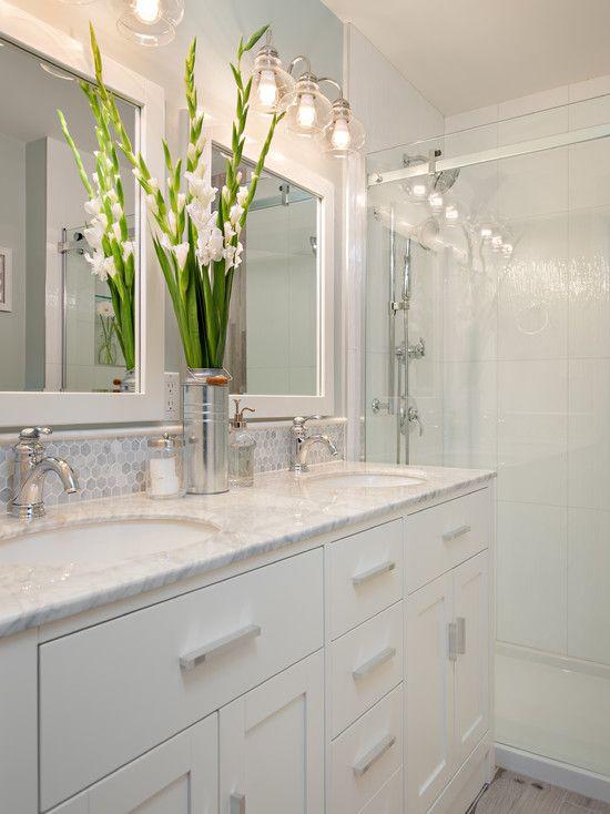 White Bathroom Vanity Backsplash Ideas Homyracks