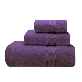 Purple Luxury Bath Towel Ensemble Ambassador By Espalma