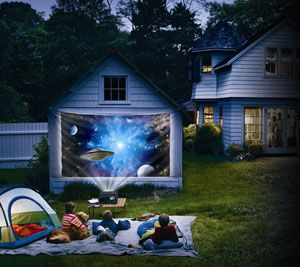 Backyard Movie Theaters