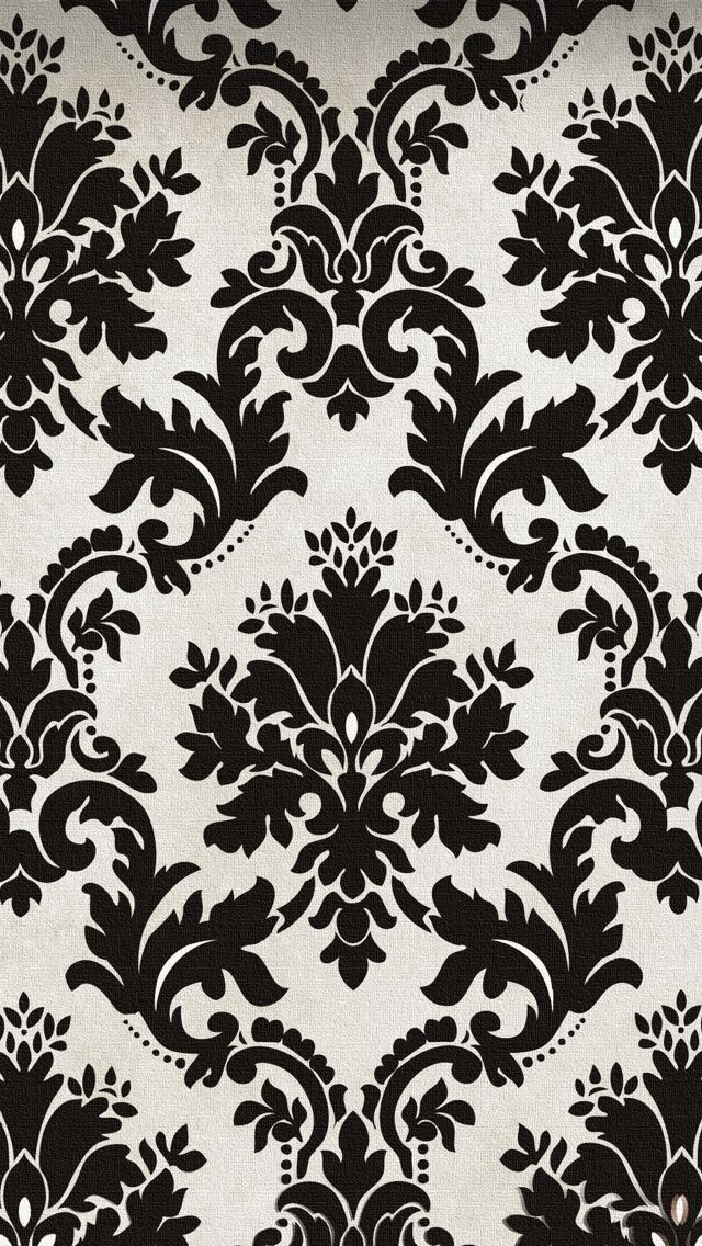 Blak And White Pattern Texture Wallpaper IPhone 5